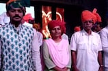 साफा बांध प्रतियोगिता के विजेता बने राघव सिंह सोलंकी