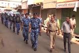 भीलवाड़ा के संवेदनशील इलाकों में आरएएफ ने किया मार्च