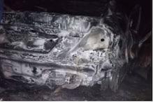 दर्दनाक हादसा: जयपुर में चलती कार में लगी आग, जिंदा जला चालक