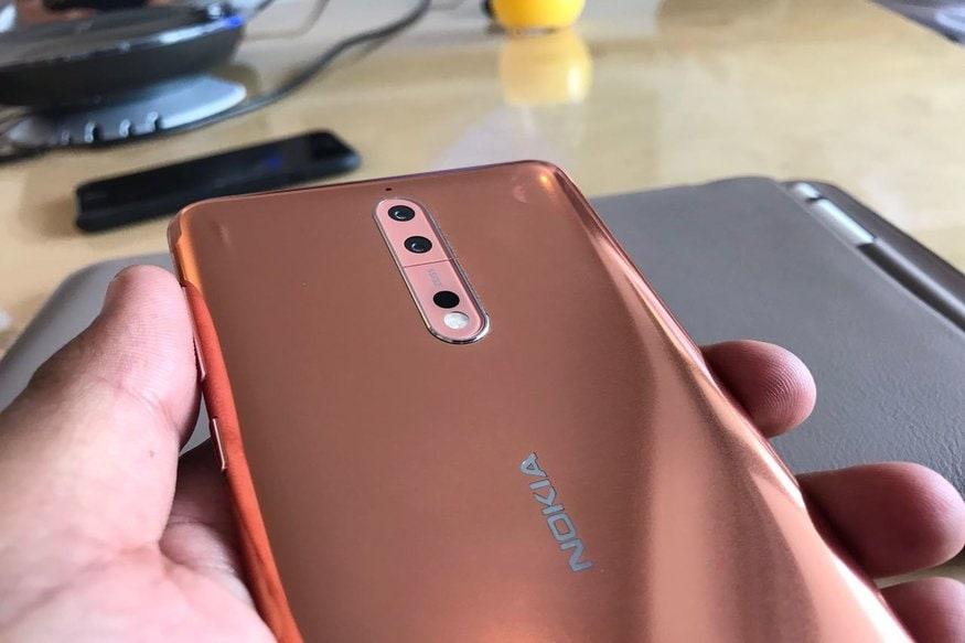 HMD ग्लोबल ने नोकिया के चार एंड्रॉयड स्मार्टफोन की कीमत में कटौती कर दी है. कंपनी ने Nokia 3.1, Nokia 5.1 और Nokia 6.1 को 1,500 रुपये सस्ता कर दिया है. वहीं इसके प्रीमियम फोन Nokia 8 Sirocco की कीमत में 13,000 रुपये की कटौती कर दी गई है.