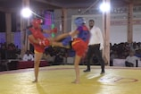 VIDEO: वुशू प्रतियोगिता में महिला खिलाड़ियों ने दिखाया दम
