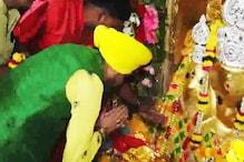 VIDEO: लक्खा ने किए मां बगलामुखी के दर्शन, दी भजनों की प्रस्तुति