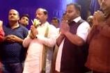 VIDEO: बेटे ललित दास के साथ एग्रिको दुर्गा पूजा पंडाल पहुंचे CM