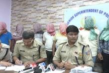 बागबेड़ा में अगस्त माह में हुई थी 40 लाख की डकैती, 8 आरोपी पिस्टल के साथ गिरफ्तार