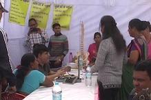 VIDEO: खटीमा में पुलिस व उनके परिवार के लिए स्वास्थ्य शिविर का आयोजन