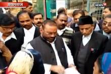VIDEO: कैबिनेट मंत्री स्वामी प्रसाद मौर्या को गैर जमानती वारंट, कोर्ट में हुए पेश