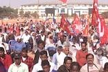 VIDEO: वामदलों की रैली में केन्द्र व राज्य सरकार पर निशाना
