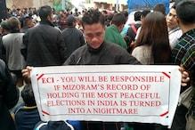 मिजोरम में वोटिंग से ठीक पहले हटाए गए मुख्य चुनाव अधिकारी, जानें वजह