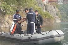 VIDEO: टिहरी झील में ट्रक सहित डूबे तीन लोगों की खोज में जुटी नेवी टीम