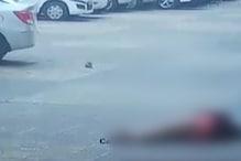 CCTV में कैद हुआ मौत का मंजर, लेडी डॉक्टर ने छत से कूदकर दी जान