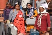 बूंदी में मतदान केंद्रों के लिए रवाना हुईं महिला मतदान टीमें