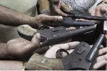 पुलिस ने अवैध हथियार फैक्ट्री का किया भंडाफोड़, असलहों का जखीरा बरामद