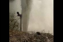 प्रेशर पाइप फटने से सौ फीट हवा में उछले किसान, एक की मौत, तीन घायल