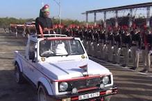 VIDEO: राजस्व मंत्री हरीश चौधरी ने किया ध्वजारोहण, मार्च पास्ट की ली सलामी