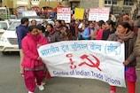 VIDEO: मजदूर संगठनों ने निकाली विशाल रैली, शिमला की सड़कों पर उतरे हजारों श्रमिक