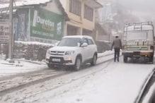 PHOTOS: सिरमौर के ऊपरी इलाकों में ऐसी बर्फबारी हुई कि पैदल चलना बनी मजबूरी