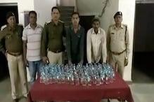 जांजगीर में 130 नग अवैध देसी शराब के साथ दो आरोपी गिरफ्तार