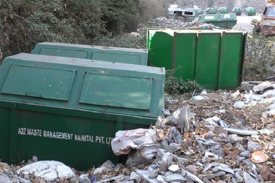 nainital garbage truck