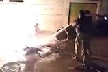 VIDEO: देवास में गेल की गैस पाइपलाइन में लगी आग, लापरवाही पर उठे सवाल