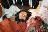 भीलवाड़ा में प्रसूता के परिजनों ने बच्चा बदलने का आरोप लगाकर किया हंगामा