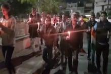 VIDEO: पुलवामा के शहीदों के लिए कैंडल मार्च, पाकिस्तान पर कार्रवाई की मांग