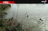 VIDEO: गंग नगर में गिरी बाइक, 2 युवक डूबे