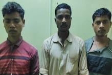 दंतेवाड़ा से तीन नक्सली गिरफ्तार, जवानों ने दो टिफिन बम भी किया बरामद