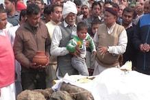 शहीद बलजीत सिंह की अंतिम विदाई में उमड़ा जनसैलाब, भावुक कर देंगी ये तस्वीरें ...