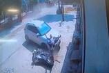 VIDEO: यमुनानगर में सड़क हादसे का दिल दहला देने वाला CCTV फुटेज