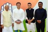 पोते आश्रय शर्मा संग राहुल गांधी से मिले पंडित सुखराम, फिर थामा कांग्रेस का 'हाथ'