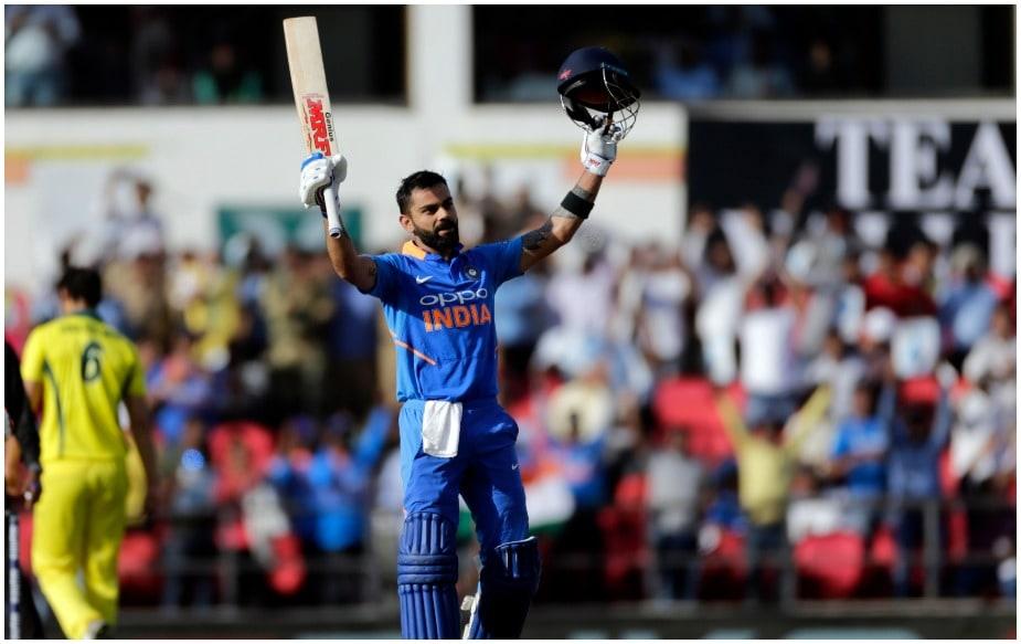 टीम इंडिया ने ऑस्ट्रेलिया के खिलाफ नागपुर वनडे में कप्तान विराट कोहली के शतक (116) के दम पर 250 रन स्कोर बनाया है. जबकि इस शतक के साथ उनके (विराट) नाम कई रिकॉर्ड दर्ज हो गए हैं.