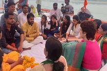 PM मोदी के 'मन की बात' के मुकाबले प्रियंका गांधी की छात्रों से 'सांची बात'