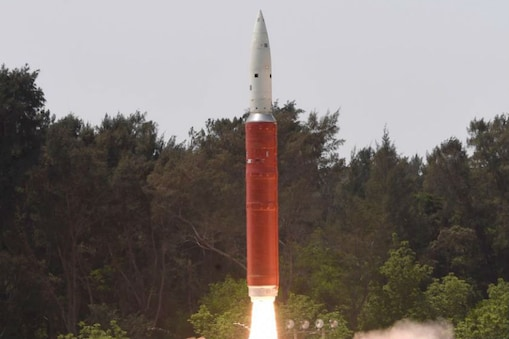 रक्षा मंत्रालय द्वारा जारी एंटी-सैटेलाइट मिसाइल की तस्वीर