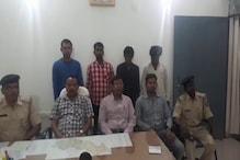 लोहरदगा पुलिस ने बरामद किया 32 लाख का गांजा, 4 गिरफ्तार