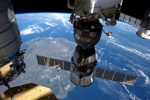 अंतरराष्ट्रीय स्पेस स्टेशन की प्रतीकात्मक तस्वीर