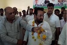 नागौर में NDA को बड़ा झटका, चुनाव मैदान छोड़कर फिर कांग्रेस में आए BSP प्रत्याशी