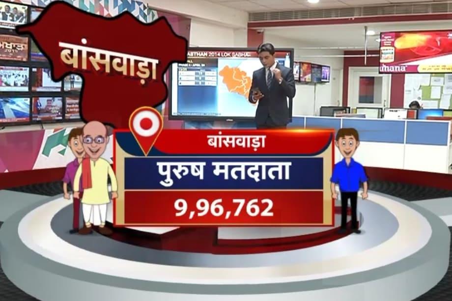 बांसवाड़ा लोकसभा सीट पर कांग्रेस जहां 12 बार चुनाव जीती है.