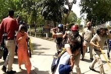 करनाल: छात्र की मौत पर बवाल, पुलिस ने किया लाठीचार्ज, तनाव बरकरार