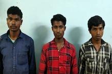 दंतेवाड़ा से 6 नक्सली गिरफ्तार