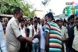 दारोगा ने की आरोपी की सरेआम पिटाई, वीडियो हुआ वायरल
