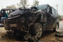 जाट नेता य़शपाल मलिक की गाड़ी अनियंत्रित होकर ट्रक से टकराई, घायल
