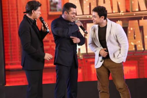 शाहरुख खान, सलमान खान, आमिर खान