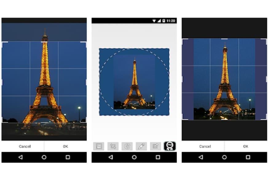 अगर आप इस ऐप को इस्तेमाल करना चाहते हैं तो इंस्टॉल करने के बाद नीचे बाएं तरफ दिए गए इमेज आइकन पर क्लिक करें. इसमें आप कोई भी फोटो खींच सकते हैं या फोन में पहले से पड़ी फोटो का इस्तेमाल कर सकते हैं. जब आप डीपी लगाएंगे तो WhatsCrop अपने आप सर्कल के अंदर फोटो को फिट कर देगा. इसमें आप अपने हिसाब से फोटो के बैकग्राउंड को भी बदल सकते हैं. इसके लिए आपको पेंसिल के आइकन पर क्लिक करना होगा. इसके बाद आपको कई तरह के बैकग्राउंड, पैटर्न और कलर मिलेंगे जिसमें से सिलेक्ट कर आप फोटो को और अच्छा बना सकते हैं.