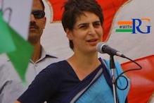 जौनपुर: प्रियंका को नहीं मिली हेलीकॉप्टर लैंडिंग की परमिशन