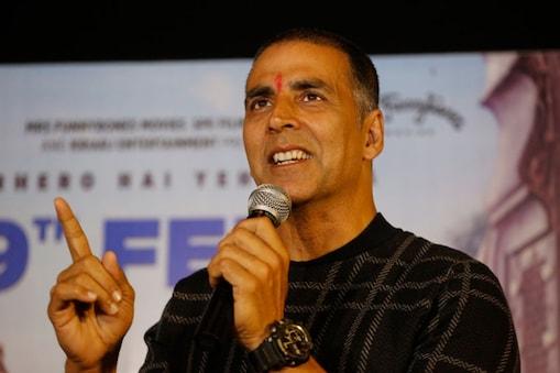 बॉलीवुड एक्टर अक्षय कुमार.