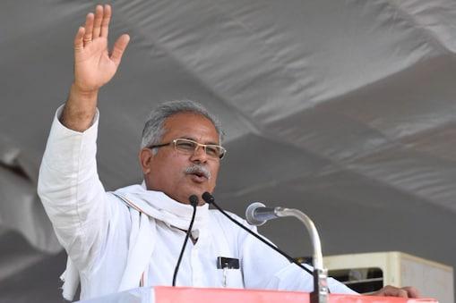 मुख्यमंत्री भूपेश बघेल (फाइल फोटो).