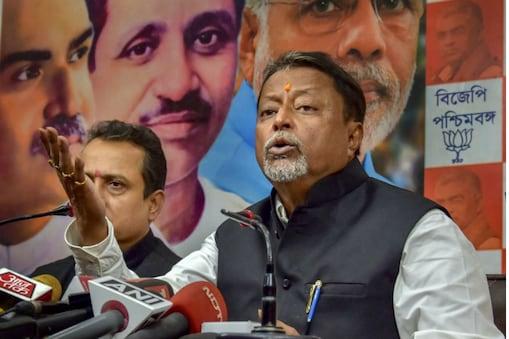 बीजेपी नेता मुकुल रॉय का दावा- टीएमसी नेता हैं संपर्क में