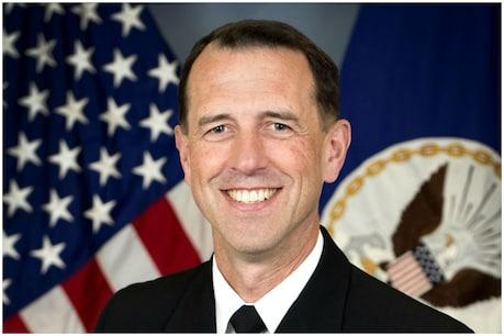 रणनीतिक साझेदारी मजबूत करने को भारत आ रहे अमेरिकी नौसेना प्रमुख