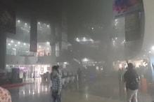भोपाल के मॉल में आग, फायर ब्रिगेड की 6 गाड़ियां पहुंचीं