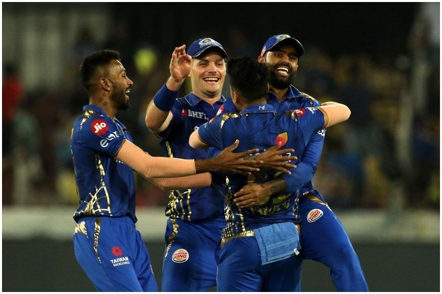 इंडियन प्रीमियर लीग 2019 के फाइनल मुकाबले में मुंबई इंडियंस ने बेहद ही रोमांचक मुकाबले में चेन्नई को 1 रन से हरा दिया.आखिरी गेंद में चेन्नई को 2 रनों की जरूरत थी लेकिन मलिंगा ने शार्दुल ठाकुर को LBW आउट कर मुंबई को जीत दिला दी. मुंबई इंडियंस ने चेन्नई को 150 रनों का लक्ष्य दिया जिसके जवाब में चेन्नई की टीम 148 रन ही बना सकी. इस मैच को जीतने के साथ ही मुंबई ने कई रिकॉर्ड अपने नाम कर लिए.(साभार-आईपीएल)